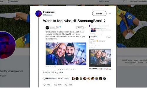 Sự cố tương tự của Samsung tại Brasil.