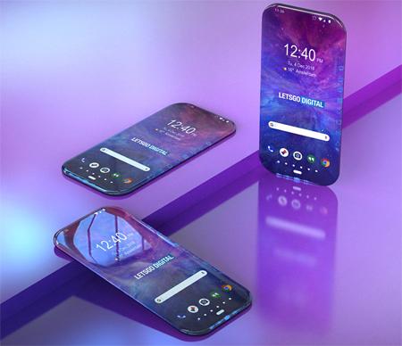 Ảnh dựng điện thoại Samsung dựa trên bằng sáng chế.