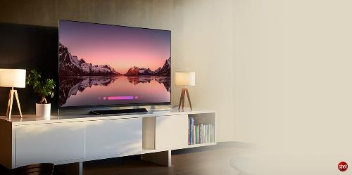 Màu đen tuyệt đối và độ tương phản vô hạn trên TV OLED.