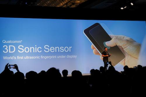 Công nghệ cảm biến vân tay siêu âm 3D.