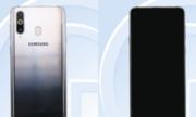 Galaxy A8s chưa ra mắt đã lộ ảnh thực tế