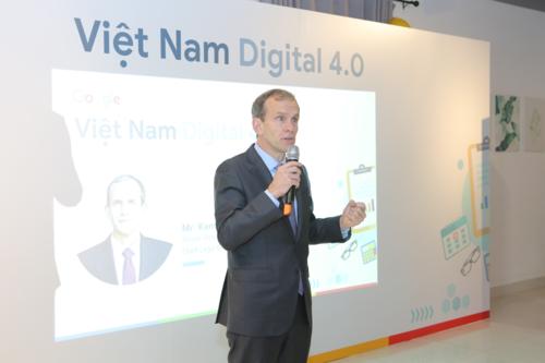Ông Kent Walker, Phó chủ tịch cấp cao Google của Google cho biết Việt Nam Digital 4.0 sẽ được nhân rộng thời gian tới.