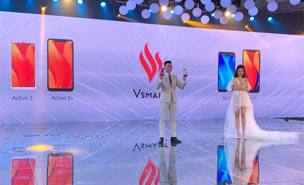 Thương hiệu điện thoại Vsmartchính thức gia nhập thị trường Việt Nam.