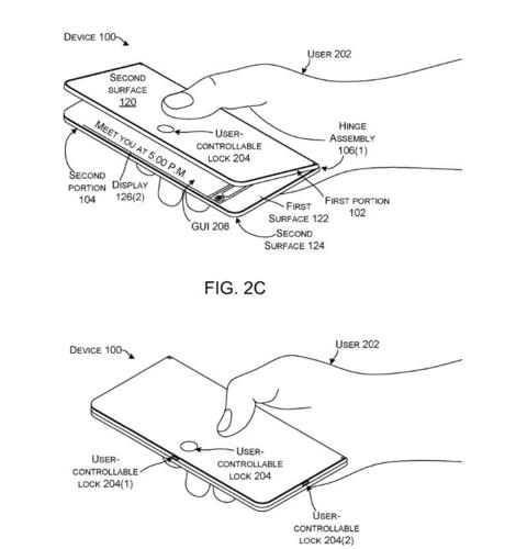 Microsoft nung nấu làm điện thoại màn hình gập đôi