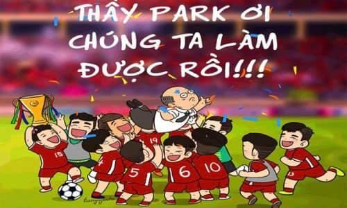 Chức vô địch AFF Cupđãtrở về Việt Nam sau 10 năm.
