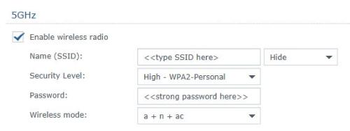 Cách đặt mức mã hóa phù hợp trên bộ định tuyến.