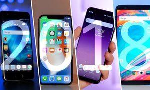 10 smartphone bán chạy nhất cuối năm 2018