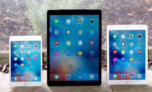 Apple có ba kích cỡ máy tính bảng khác nhau nhưng dòng sản phẩm nhỏ nhất đã không được nâng cấp từ 2015.
