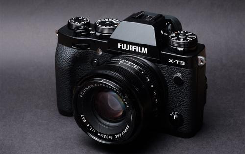 Fujifilm X-T3.