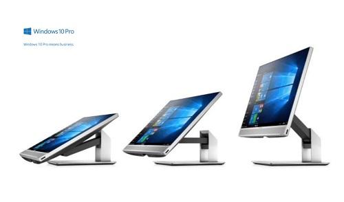 Màn hình HP EliteOne 800 G4 có thể xoay 360 độ