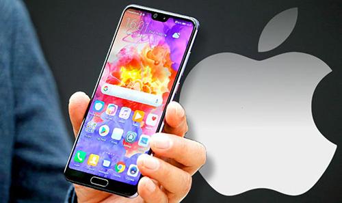 Nhiều doanh nghiệp Trung Quốc yêu cầu nhân viên không dùng thiết bị Apple. Ảnh: Daily News.