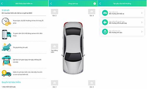 Công nghệ InsurTech cho các bước đăng ký mua bảo hiểm, giám định hay yêu cầu bồi thường đều được rút gọn so với bảo hiểm truyền thống và sử dụng hoàn toàn trên điện thoại thông minh.