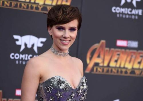 Scarlett Johansson từng xuất hiện trên nhiều video khiêu dâm giả mạo. Ảnh AP