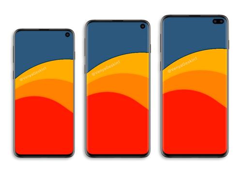 Dòng Galaxy S mới có thể có 3 kích cỡ.
