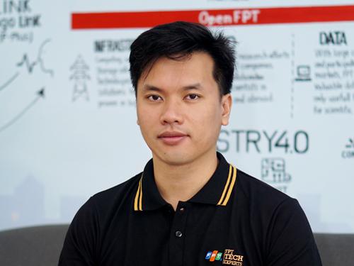 Ông Đặng Hoàng Vũ - Giám đốc Khoa học Tập đoàn FPT.