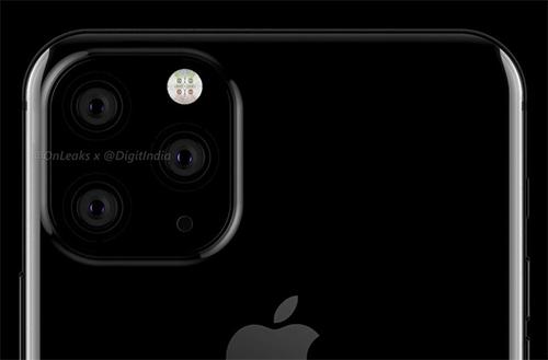 iPhone XI sẽ có 3 camera phía sau. Ảnh: Digit.