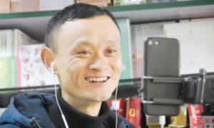 Chủ hàng tạp hóa có gương mặt giống Jack Ma