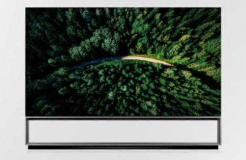 LG ra TV OLED 8K lớn nhất thế giới