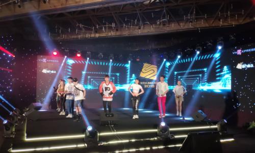 Sân khấu của sự kiện trao giải Tech Awards 2018.