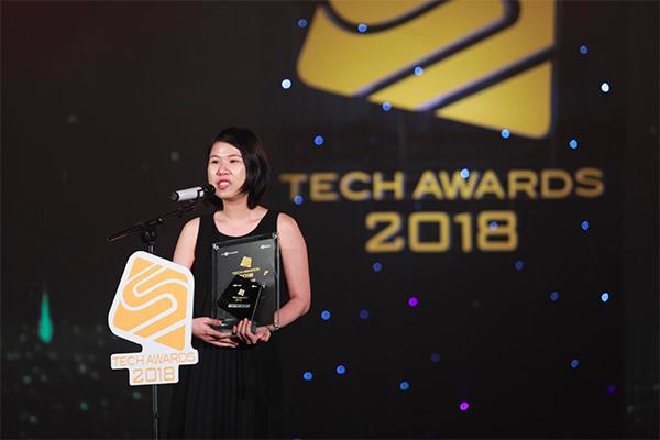 Galaxy Note9 đoạt giải Điện thoại xuất sắc của Tech Awards 2018.