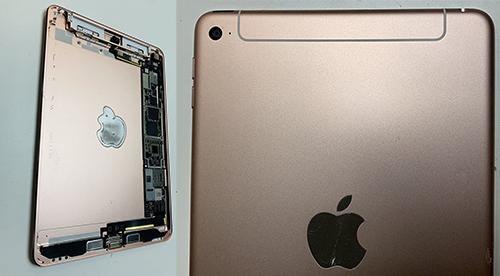 Ảnh được cho là iPad mini 5 với một số thay đổi nhỏ trong thiết kế.