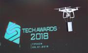 Màn trao giải bằng drone tại Tech Awards 2018