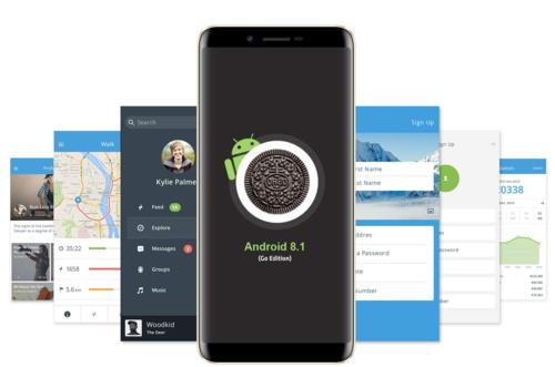 Asanzo A1 chạy trên nền tảng Android Go - hệ điều hành dành cho di động cấu hình thấp.