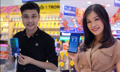Y7 Pro 2019 được lòng giới trẻ nhờ thiết kế màn hình giọt nước, camera AI cùng mức giá hấp dẫn.