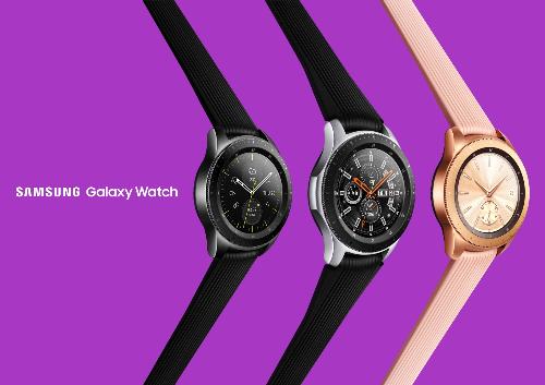 Ba màu sắc của Galaxy Watch.