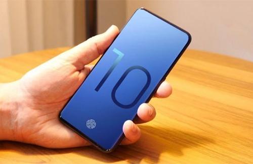 Galaxy S10 sẽ có cảm biến vân tay dưới màn hình.