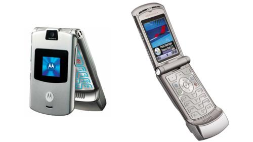 Motorola RAZR nổi tiếng nhưng đã ngừng xuất hiện trên thị trường nhiều năm.