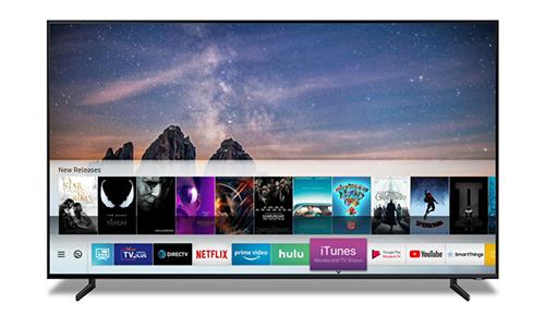 iTunes và AirPlay 2 sẽ có trên các mẫu Smart TV Samsung 2019. Ảnh: Samsung.