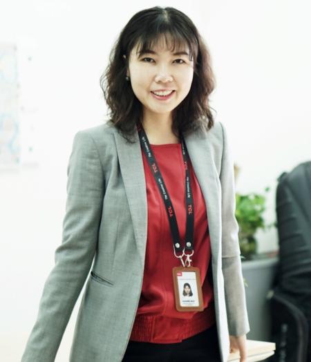 Bà Summer Gao - CEO của TCL Việt Nam.\