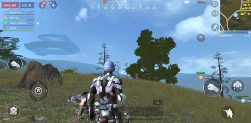 Hình ảnh trong trò chơi Survival Game của Xiaomi.
