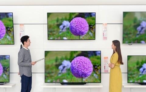 LG tích hợp rất nhiều công nghệ mới cho các dòng TV 4K.