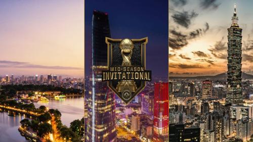 Hà Nội, Đài Bắc và TP HCM là ba địa điểm được chọn làm nơi tổ chức giải đấu MSI 2019. Ảnh Riot Games