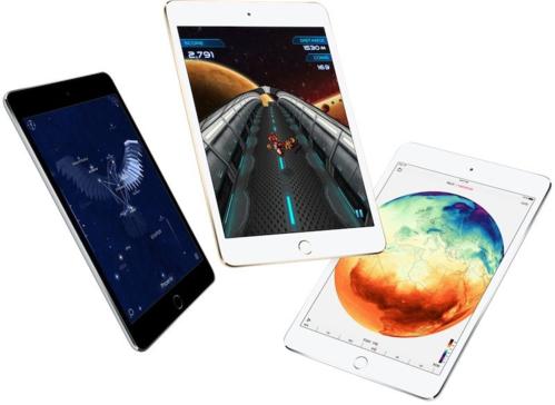 iPad Mini 5 có thể giữ nguyên thiết kế như iPad Mini 4. Ảnh Apple