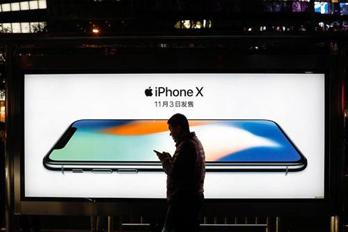 Doanh thu iPhone ngày càng đi xuống tại Trung Quốc. Ảnh: Chinadaily.