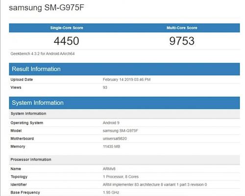Galaxy S10+ sẽ đưa Samsung quay trở lại vị trí dẫn đầu về hiệu năng trên smartphone.