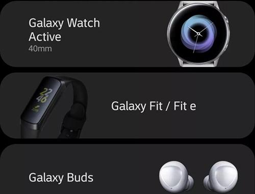 Tên gọi bộ ba thiết bị đeo được cho là sẽ ra mắt cùng Galaxy S10.