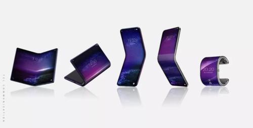 5 mẫu thiết kế thiết bị có màn hình gập của TCL.