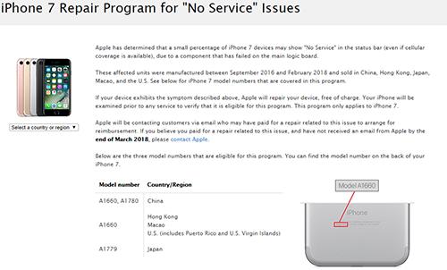 Apple thừa nhận sự cố trên trang hỗ trợ.