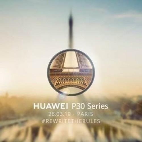 Thư mời của Huawei thể hiện khả năng zoom của P30 Series.