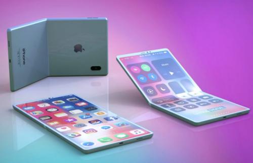 Concept iPhone màn hình gập. Ảnh: BGR.