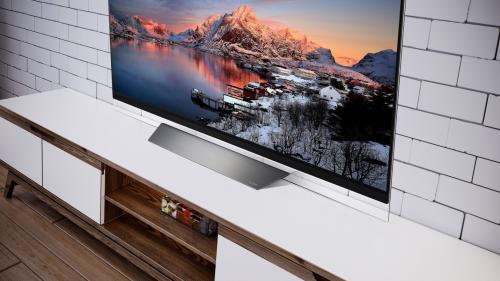 Trào lưu TV siêu mỏng trong phong cách nội thất 2019