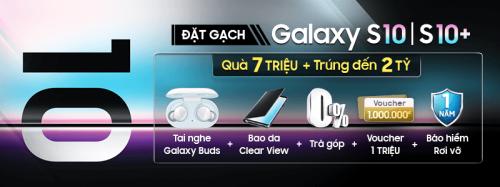 Nhận 6 quà tặng giá trị khi đặt trước Galaxy S10 và S10+ - 3
