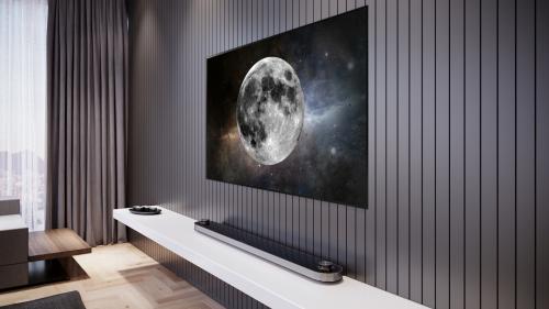 Trào lưu TV siêu mỏng trong phong cách nội thất 2019 - 1
