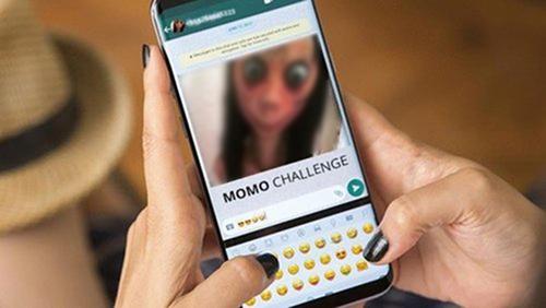 Thử thách Momo là một trong những trào lưu nguy hiểm. Ảnh: CNN.