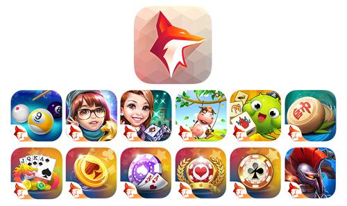 Logo ZingPlay mới sẽ xuất hiện đồng nhất trên tất cả icon app.