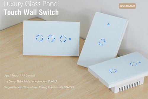 Sonoff Touch T1 phổ biến nhờ giá thành rẻ.